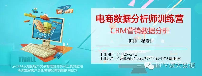 电商数据分析师训练营-CRM营销数据分析